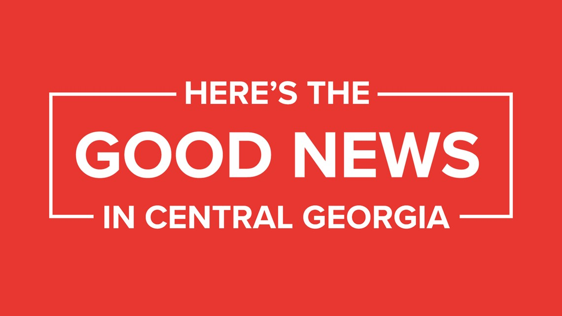 Here's the 'Good News' that happened in Central Georgia: May 19-25
