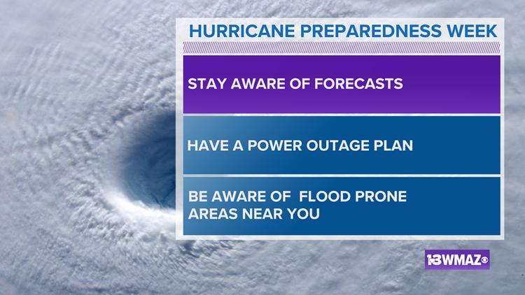 This week is Hurricane Preparedness Week in Georgia. Here's how you can get ready for the season
