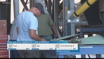 Robins Air Force Base says 1,000 jobs added since last summer