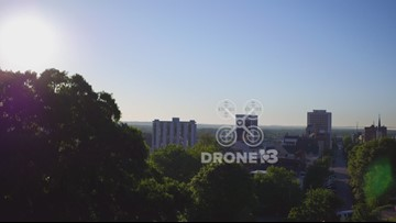 Macon's Coleman Hill from #Drone13
