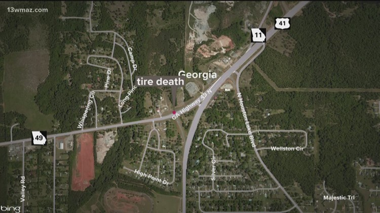 Houston County woman killed by truck tire