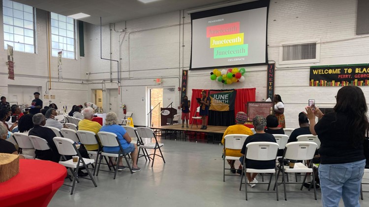 Juneteenth celebration held in Perry