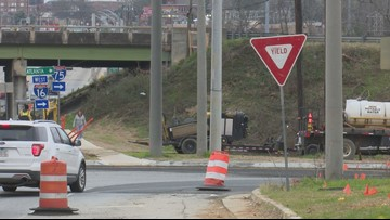 Drivers see relief along interchange in east Macon