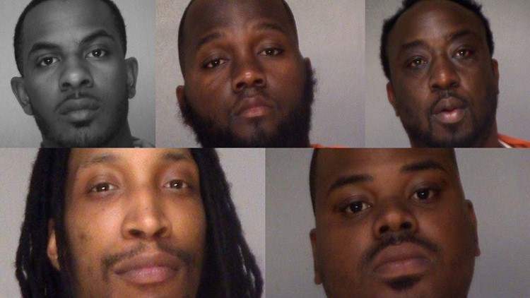 5 facing drug charges after Bibb investigators find cocaine, pounds of marijuana while executing search warrant