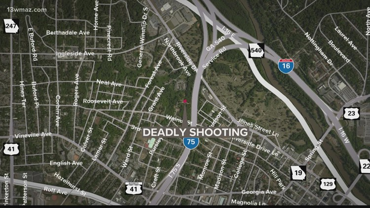 Man dead after shooting around Macon's Woodliff Street