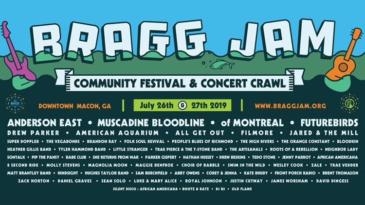 Changes to Bragg Jam include drag show, restaurant deals, and outside silent disco