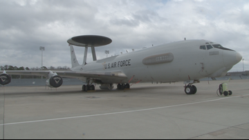 'It's a huge learning opportunity': Key aircraft visit Robins Air Force Base for training