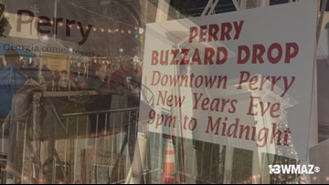 Perry's Buzzard Drop on New Year's Eve