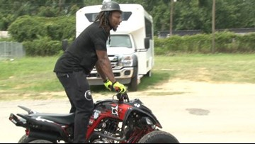 Bud Dupree Hosts 4th 'Riding for a Cause' Event