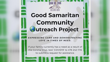 Macon church helping families through the 'Good Samaritan Project'