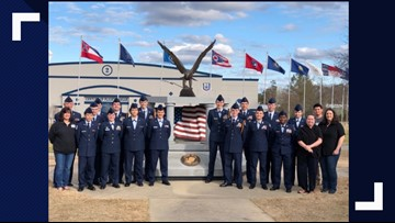 Perry High School's Junior ROTC raising money for trip to Normandy