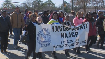 Houston County celebrates Martin Luther King Jr. Day with music, dancing and census information