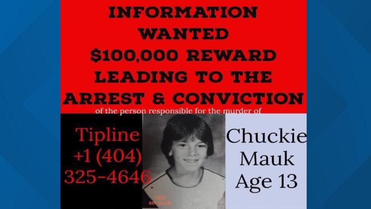 Who killed Chuckie Mauk? Childhood friend offers $100,000 reward for information leading to killer