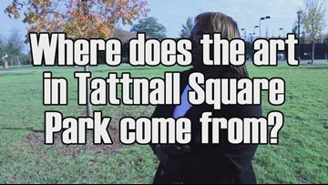 Just Curious: Where is the art at Tattnall Square Park from?