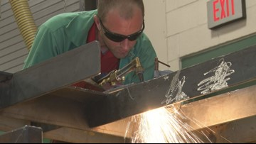Central Georgia Technical College offers adult welding classes at Baldwin High