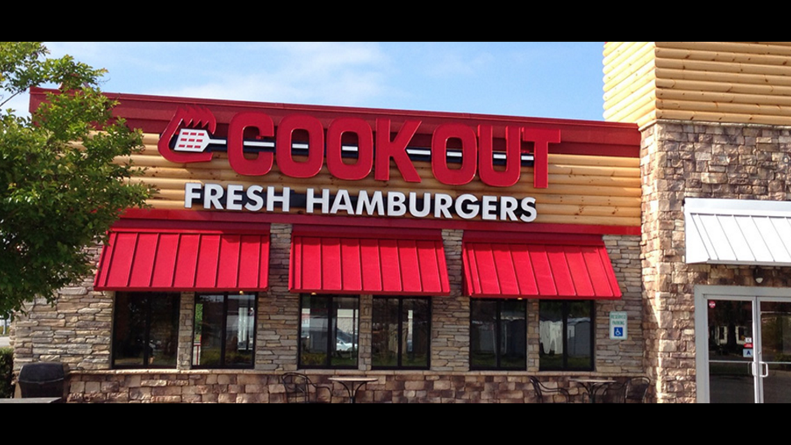 Man robs Macon Cook Out