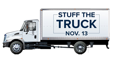 Here's how you can help with Stuff the Truck 2019