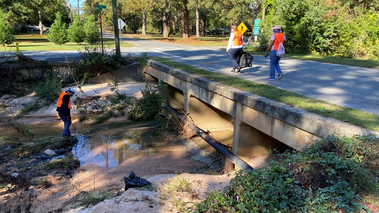 Warner Robins takes part in statewide Georgia Waterway Cleanup