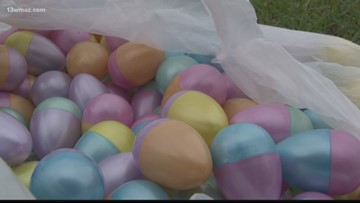 Easter Egg Hunt at Tattnall Square Park