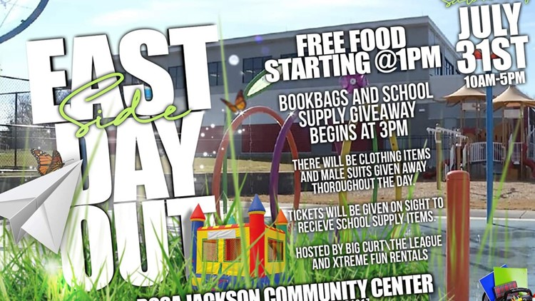 Rosa Jackson Center hosting 'Eastside Day Out' supply giveaway on Saturday