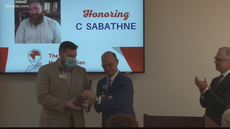Macon veteran, therapist honored for helping others