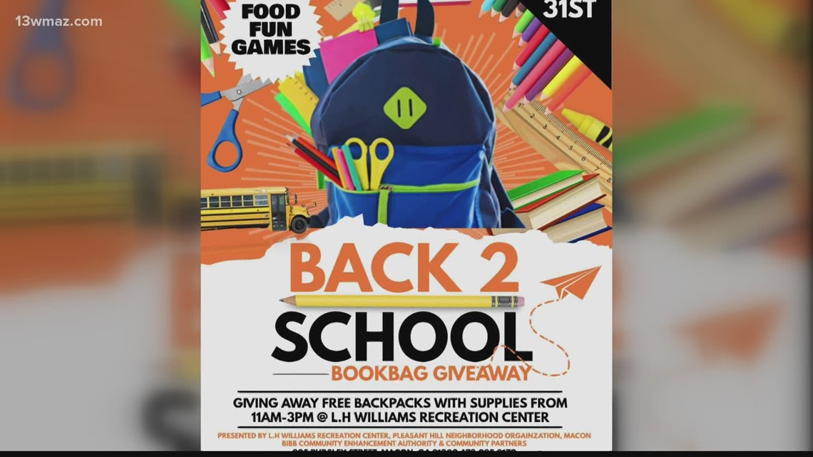 L.H. Williams Recreation Center plans back-to-school backpack giveaway