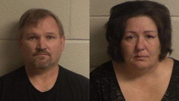 Samuel Arthur Brown, 55, and Angel Ann Brown, 52, of Crawford County