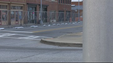 Work continues on downtown Macon's $1.5 million Second Street project