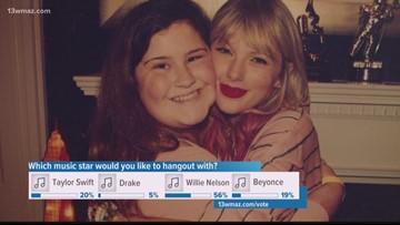 Taylor Swift invites East Dublin super-fan to secret session in Nashville