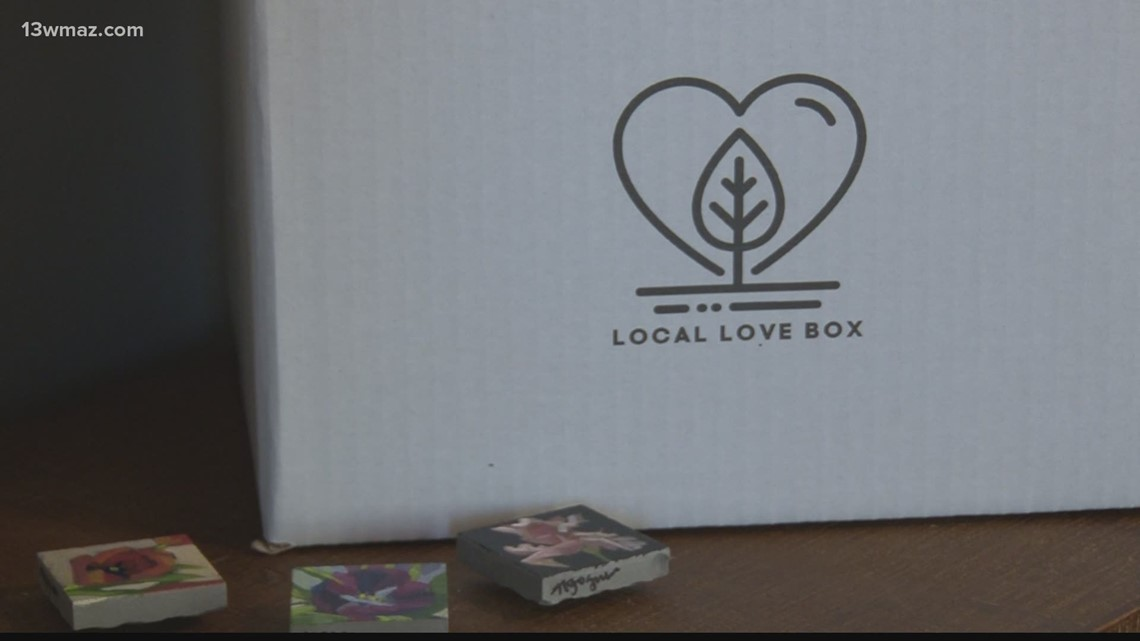 Macon woman creates subscription box to celebrate small businesses