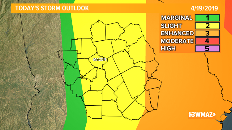 TIMELINE | Stormy Friday morning ahead, some could be strong to severe