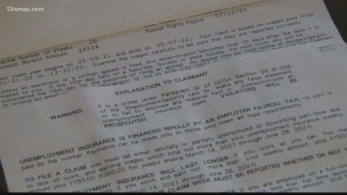 Some Central Georgians still await unemployment payout