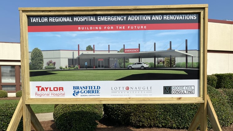 Building for the Future: Taylor Regional Hospital breaks ground on new ER this week