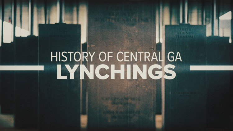 'Let their history be told:' History of Central Ga. lynchings