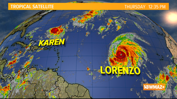 TROPICS | Monitoring 2 storms in the Atlantic, no imminent threats to the U.S.