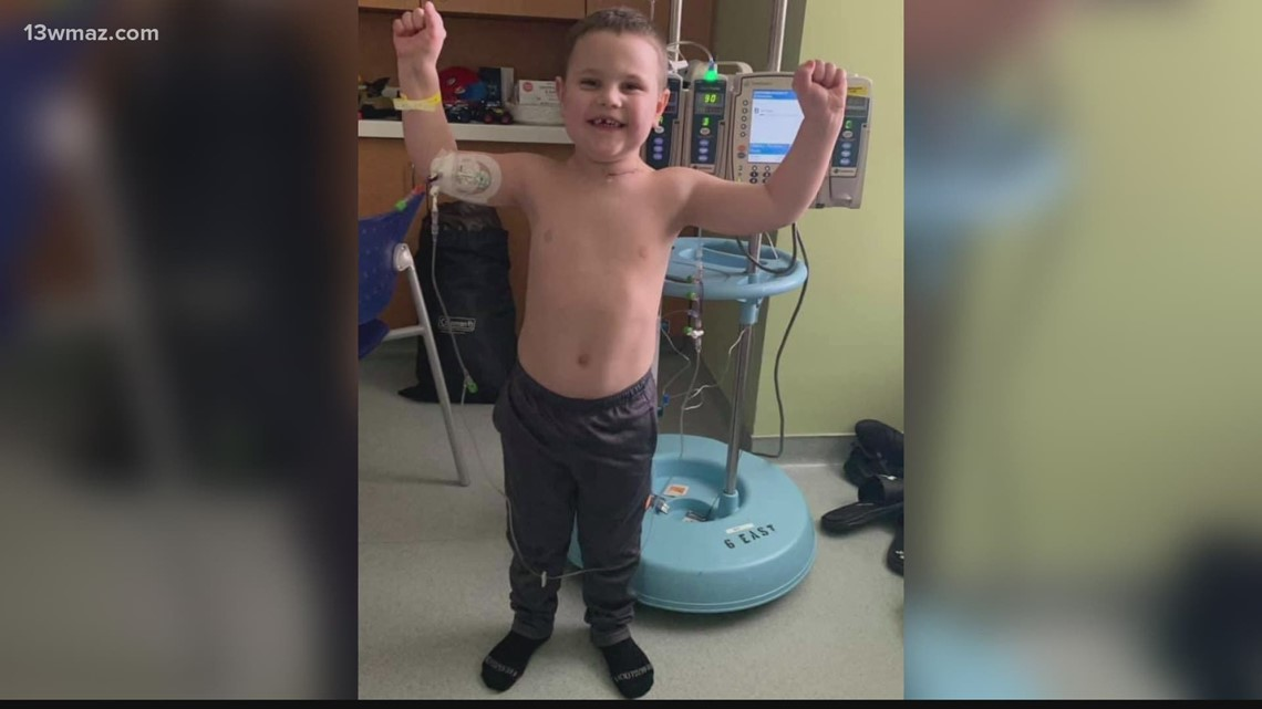 'You would never know': Parents of Forsyth toddler battling cancer ask for prayers