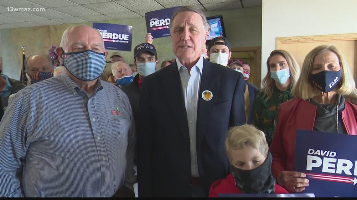 Senator David Perdue, former Governor Sonny Perdue to visit Macon for rally