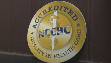 Monroe County jails awarded with national accreditation for inmate  healthcare