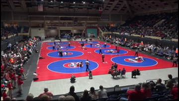 'It gets bigger and better every year': Macon hosts GHSA Team Duals Wrestling Finals