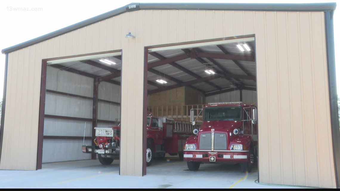 'For the citizens of Twiggs County': New fire station built near Jeffersonville city line