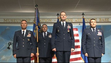 461st Air Control Wing ceremony welcomes new commander at Robins Air Force Base