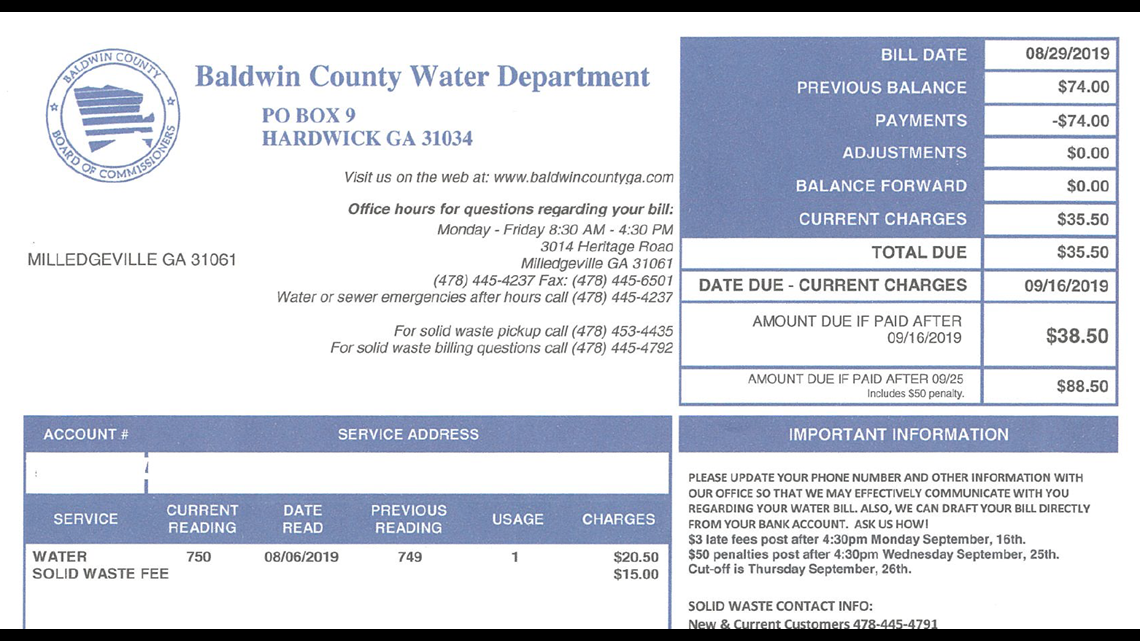 VERIFY: Does the Baldwin County Water Department send out shutoff notices?