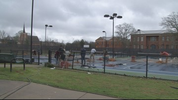 'We have a lot of players now:' Pickleball courts coming to Macon-Bibb park