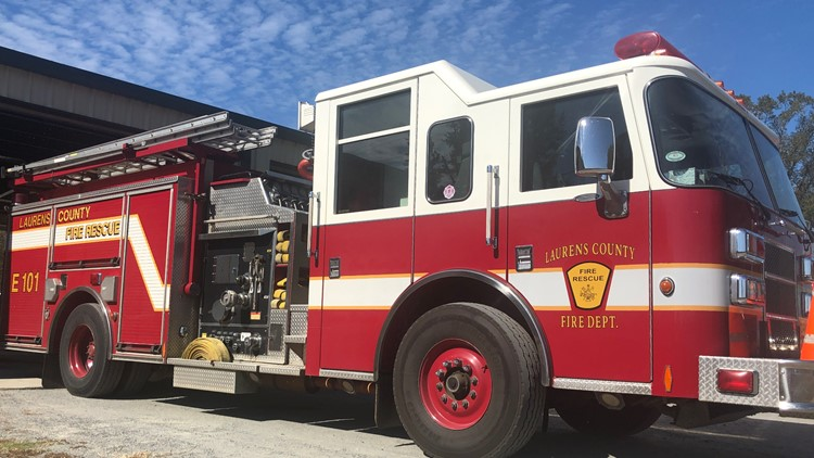 'Without them, we just couldn't function:' Laurens County Fire Department needs volunteers