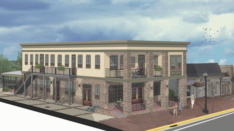 'The excitement is just contagious': Perry to get new lofts, restaurant