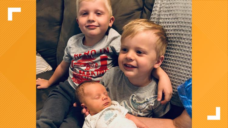 'I'm never going to stop fighting for them': Macon parents raise awareness about rare blood disorder affecting their sons