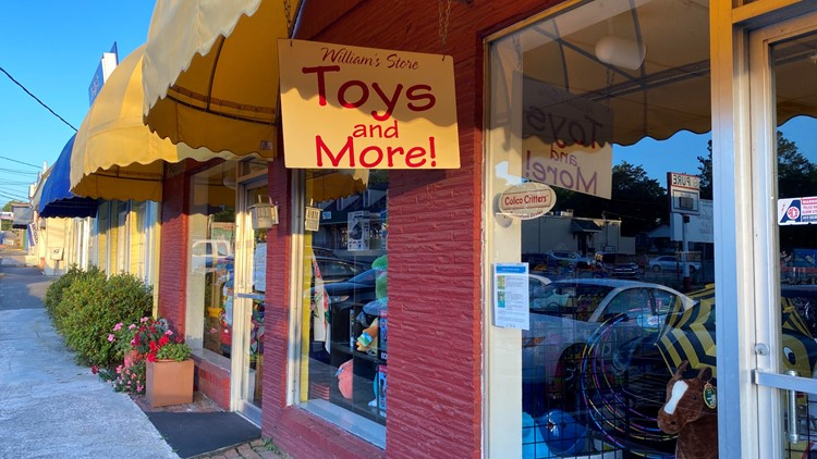 'What a difference a year makes': Ingleside toy store survives pandemic, celebrates 15 years