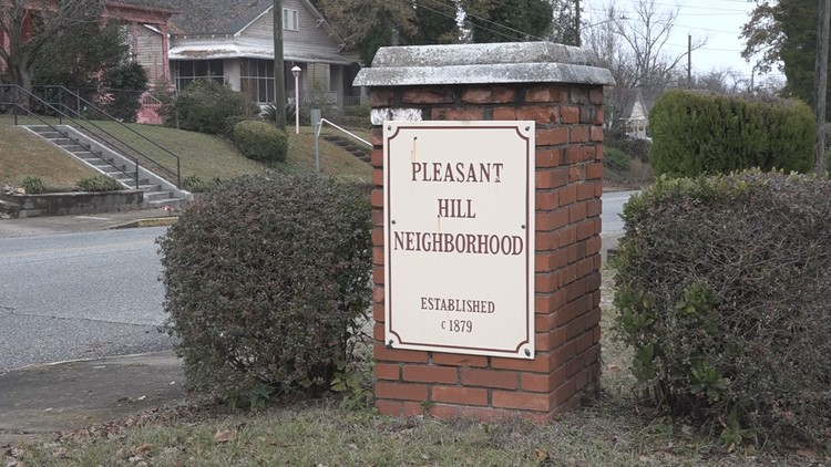 Pleasant Hill is one of Macon's poorer neighborhoods