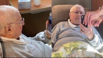 WWII Army nurse sisters stay connected through pandemic with FaceTime