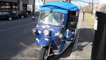 Free e-Tuk ride service coming to downtown Macon